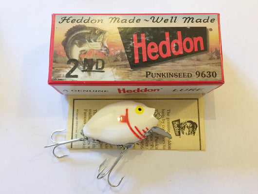 Heddon 9630 Punkinseed WYRG White Color New in Box