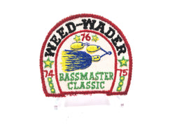 Weed-Wader 1974-75 Bassmaster Classic Fishing Patch