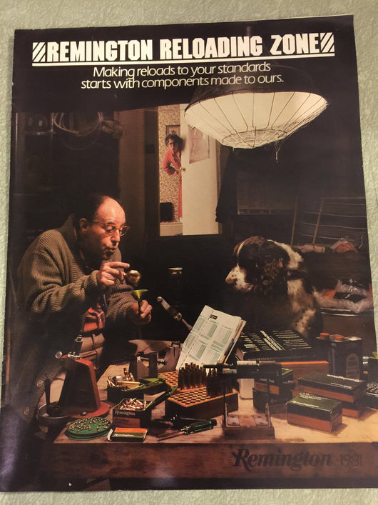 Remington Reloading Zone 1981 Catalog