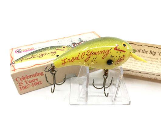 Cordell Big-O Fred Young BASS 25 Years Lure with Box