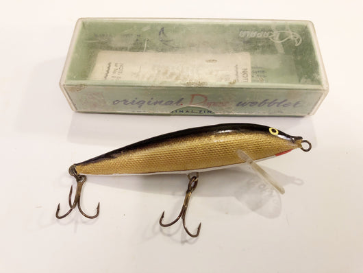 Rapala CD-9G Gold New with Box