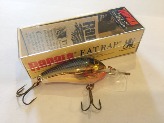 Rapala Fat Rap FR-5 SG Dealer Box of 6 lures