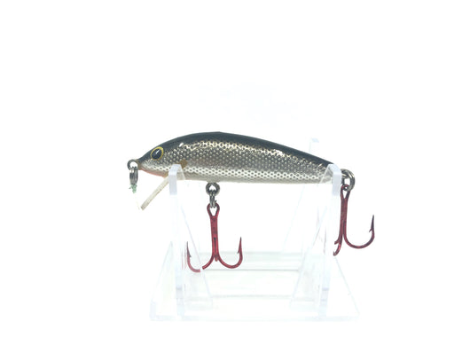 Bagley Bang-O-Lure #2 Black Back Silver Scale Color