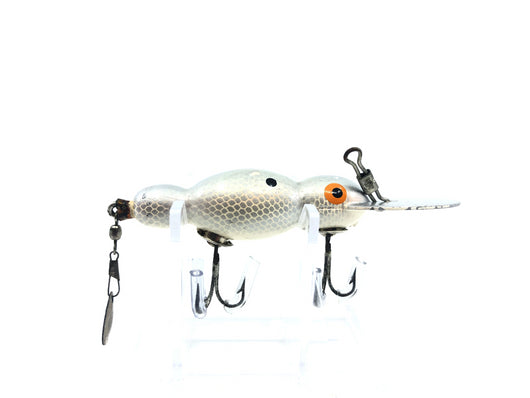 Bomber Wooden Waterdog Silver Shad Color