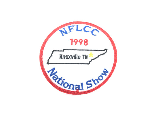 NFLCC National Show 1998 Knoxville Tennessee Patch