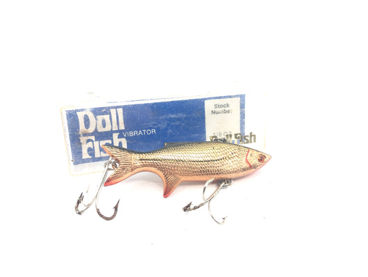 Doll Fish V81 Copper Shad New in Box Old Stock
