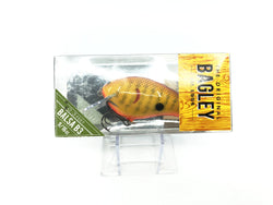 Bagley B3 Square Bill Chartreuse Crayfish Old Version Color BB3-CHC New in Box OLD STOCK2