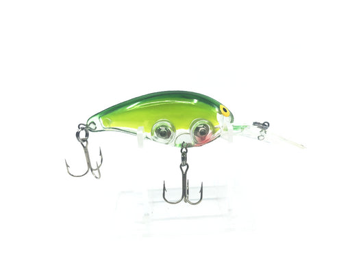 Unmarked Rattling Crainkbait Neon Green and Yellow Color