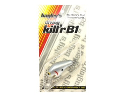 Bagley Diving Kill'r B1 DKB1-GSH Gray Shad Color New on Card Old Stock Florida Bait