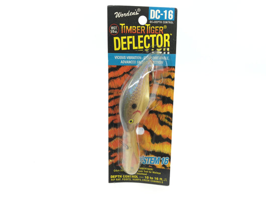 Worden Timber Tiger Deflector DC-16 Color 266 Purple Pearl Shad