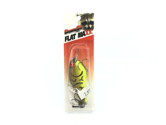 Bandit Flat Maxx Shallow Series Brown Crawfish Chartreuse Belly Color New on Card