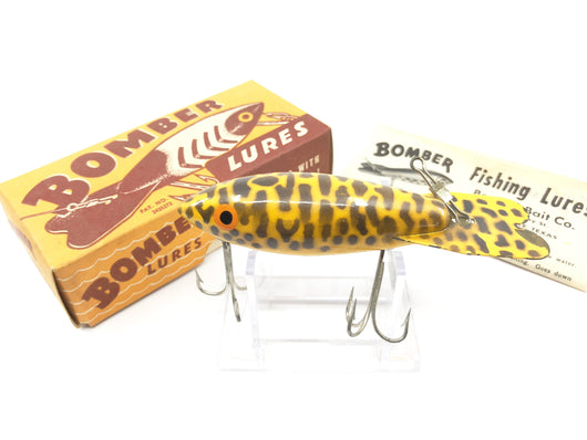 Vintage Wooden Bomber Yellow Coachdog Color with Box