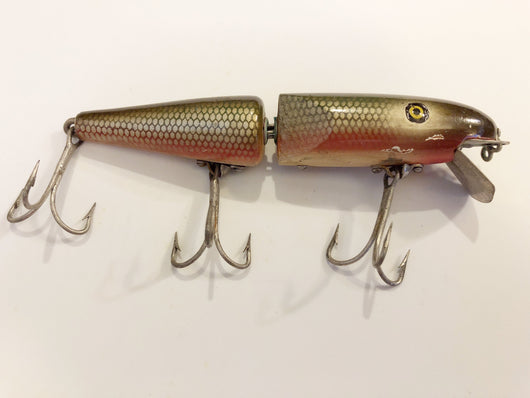 Pflueger Jointed Pal-O-Mine Lure Red Side Color