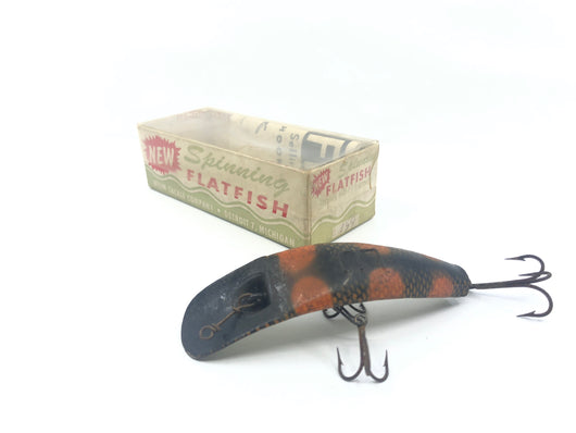 Helin Flatfish SPS Box with LU Perch Color Lure