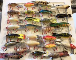 Arbogast Mud Bugs and Bomber Lures Big Lot