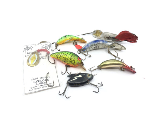 Fisherman's Lot of Lures Group of Seven