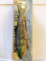 "Joe Bucher Swim'N Joe 10"" Natural Perch Lure New on Card"