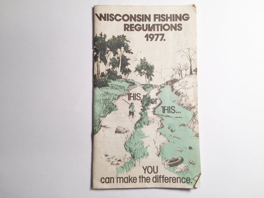 Wisconsin Fishing Regulations 1977
