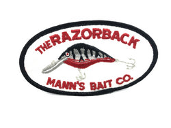 Mann's Bait Co Razorback Lure Fishing Patch