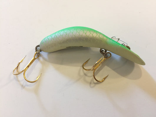 Heddon Tadpolly Clatter Tad Green Silver Scale