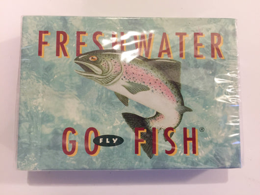 Freshwater Go Fish Fly Version Card Game New Sealed in Plastic
