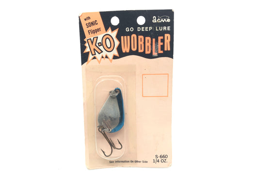 Acme K-O Wobber with Sonic Flipper New on Card Old Stock