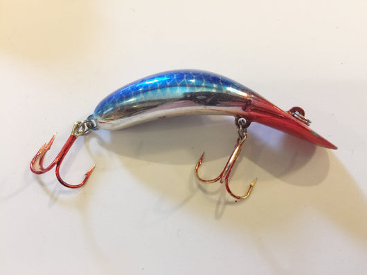 Heddon Tadpolly Clatter Tad Blue / Silver Scale