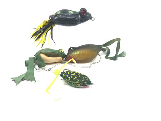 Rubber Frog 4 Pack