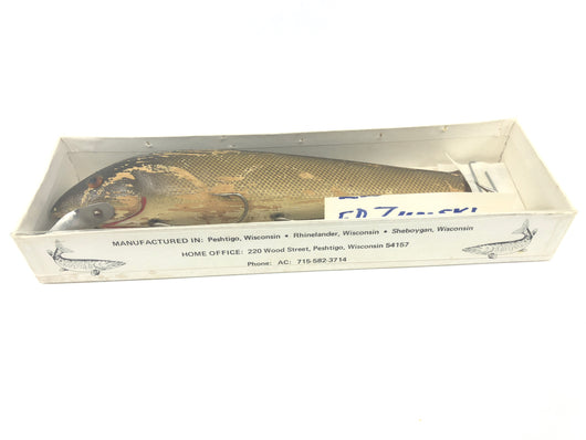 Ed Zumski Whiptail Sucker Muskie Lure in Box