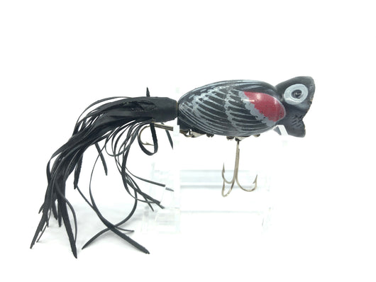 Arbogast Hula Popper Red Wing Blackbird Color.