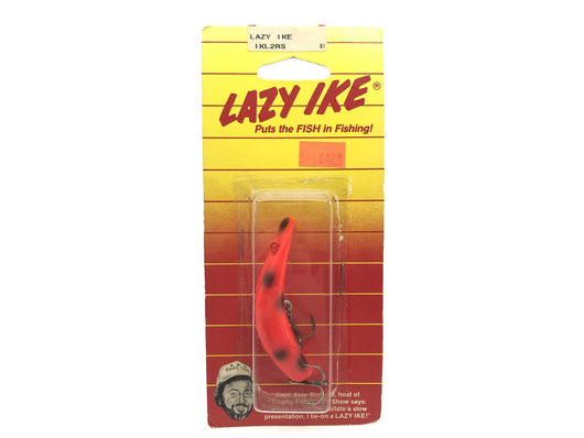 Lazy Ike IKL2RS Red Spot Color New on Card Old Stock