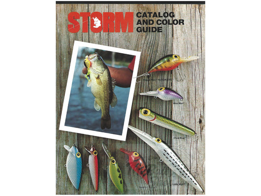 1979-1980 Storm Lures Catalog + Insert / Price List