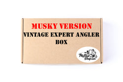 MUSKY VERSION  Vintage Expert Angler Box (Approx $80+ Value)