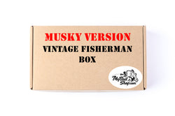 MUSKY VERSION  Vintage Fisherman Box (Approx $55+ Value)