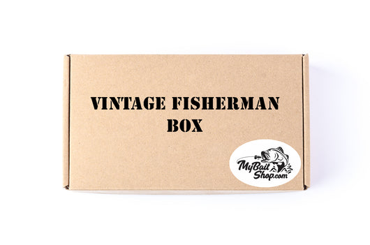Vintage Fisherman Box (Approx $40+ Value)