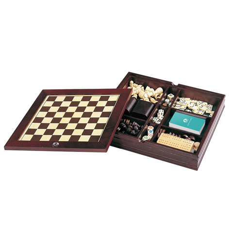 Executive 7 in 1 Wooden Game Set