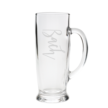 Beer Stein Glass - Bach