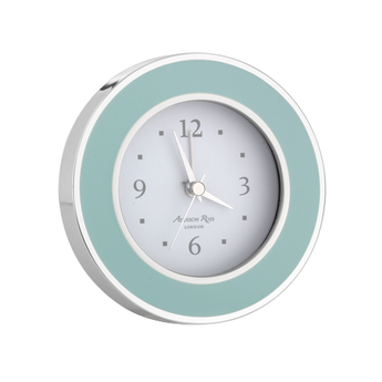 UK - Teal Enamel Clock