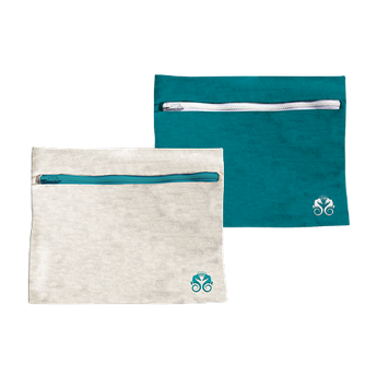 Wet/Dry Accessories Bags (Set of 2)