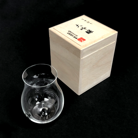 Japan - Usuhari Daiginjyo Sake Glass in Kiri Box