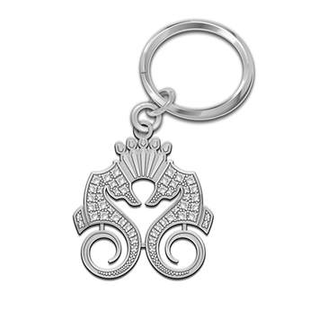 Sterling Silver Key Ring