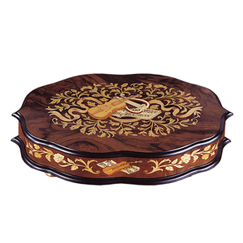 Italy - Inlay Brown Music Box