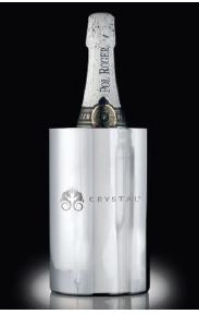 Stainless Crystal Champagne (and Wine) Bucket
