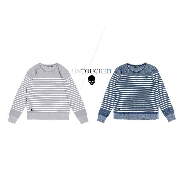 UT035GY | LINE SWEATER
