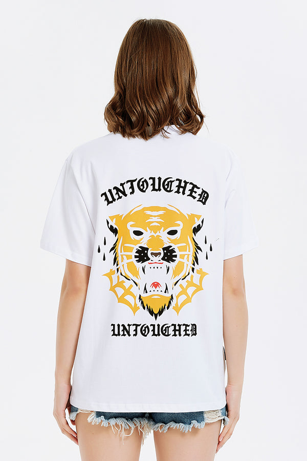 T1902WH | UAG TIGER GOD-TEE-UNTOUCHED UNITED