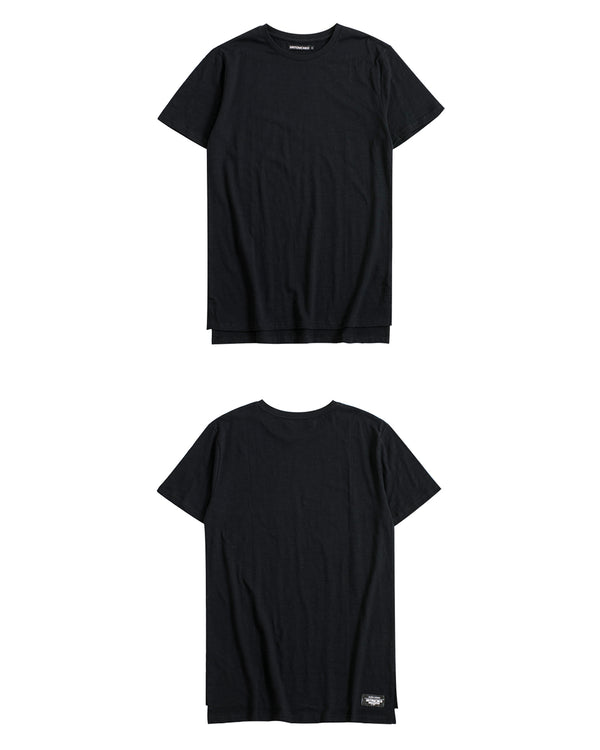 UT051BK | BASIC LONG TEE-TEE-UNTOUCHED UNITED