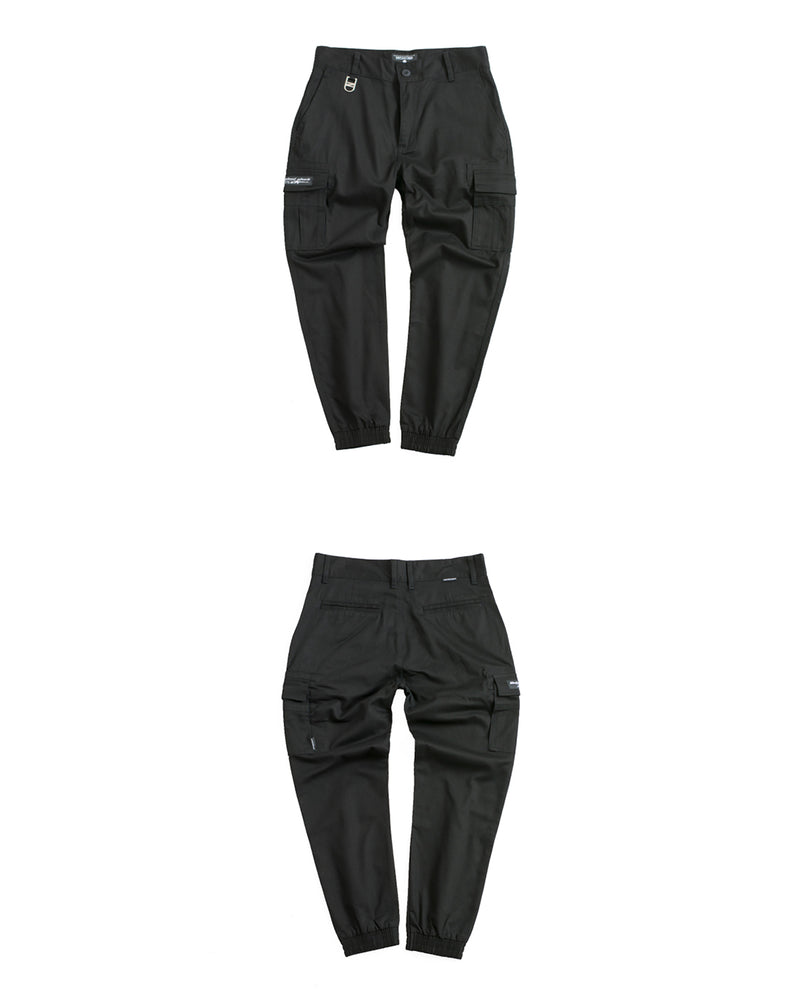 UT00BBK | ARMY JOGGERS - 2POCKETS