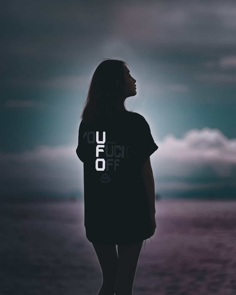T2018BK | UFO-TEE-UNTOUCHED UNITED