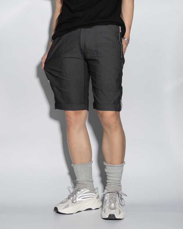UT057BK | 3M REFLECTED DENIM SHORTS