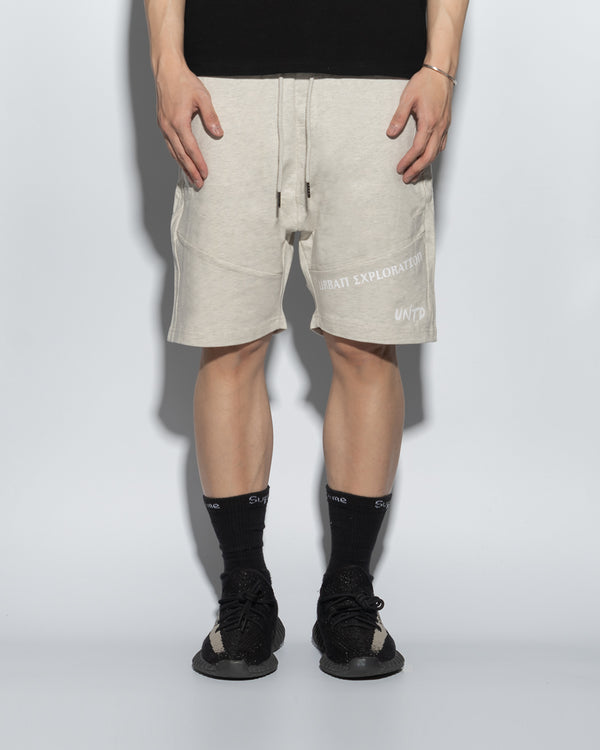 UT054GY | URBANEXPL KITTED SHORTS